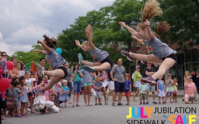 July Jubilation Sidewalk Sale 2017
