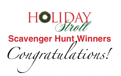 2019 Scavenger Hunt Winners