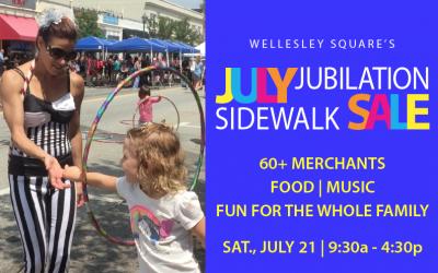July Jubilation Sidewalk Sale 2018