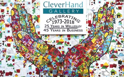 Clever Hand Gallery Celebrates 25 years in Wellesley with a Party