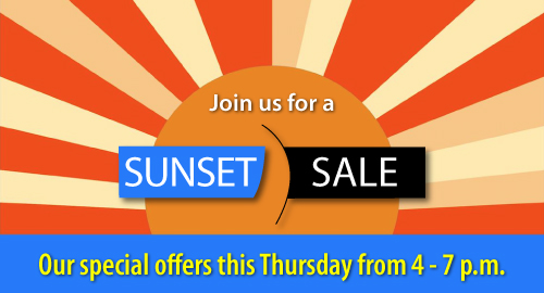 Sunset Sale Events in Wellesley
