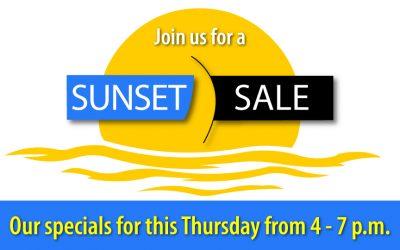 September Sunset Sale Specials