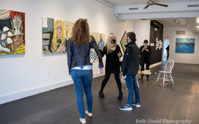 Art Wellesley Hosts Pop-Up Show and More Windows on Central Street