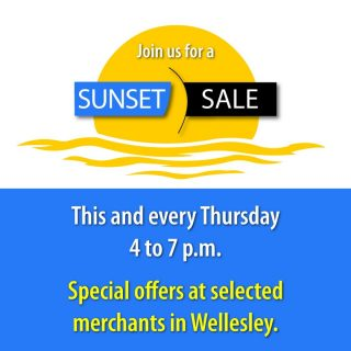 Sunset Sale has been such a hit that we're continuing it through September. Today's Sunset Sale specials are available until 7 p.m this evening. Copy-and-paste this link to see which merchants are participating: https://shopwellesleysquare.com/september-2020-sunset-sale/ We look forward to seeing you. #wellesley #sunsetsalewellesley #wellesleysquare #lindensquare #shopchurchsquare #shoplocal #sunsetsale #sunsetsalewellesley #wellesleysquaremember