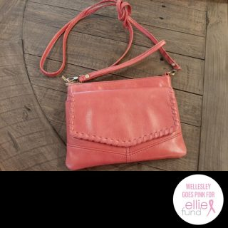 #comina.inc raffled off this Hobo crossbody bag to support the Ellie Fund. We're posting photos from those stores which participated in
