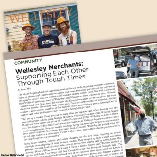 Wonderful article about how the Wellesley merchants are working to persevere. Thank you, Linda Tighe, Publisher of Wellesley Living Well. View the PDF here (COPY AND PASTE): https://shopwellesleysquare.com/wp-content/uploads/2020/08/Wellesley-Living-Well_August2020.pdf If you want to be added to the Wellesley Living mailing list, email Linda Tight at ltighe@bestversionmedia.com. Photos by Beth Shedd, Wellesley, www.BethShedd.com #wellesleysquare #wellesley #community #shoplocal #shopwellesley #wellesleysquaremember #beth_shedd #beth.shedd.7