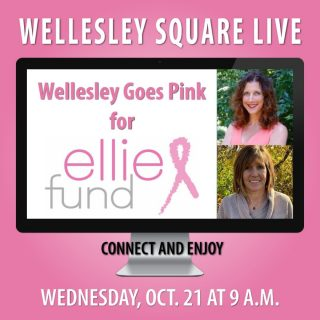 The Ellie Fund's Meredith Mendelson and Kristen Sajdak joins us this morning to share their stories and answer your questions. Also, your community merchants who are going pink for Ellie Fund will describe their special offers for you and how they're supporting this worthy cause. We hope to see you at 9 a.m. Learn more and register for free here: https://shopwellesleysquare.com/wellesley-square-live/ #wellesleysquare #Wellesley #wellesleyma #EllieFund #wellesleysquarelive #wellesleysquaremember